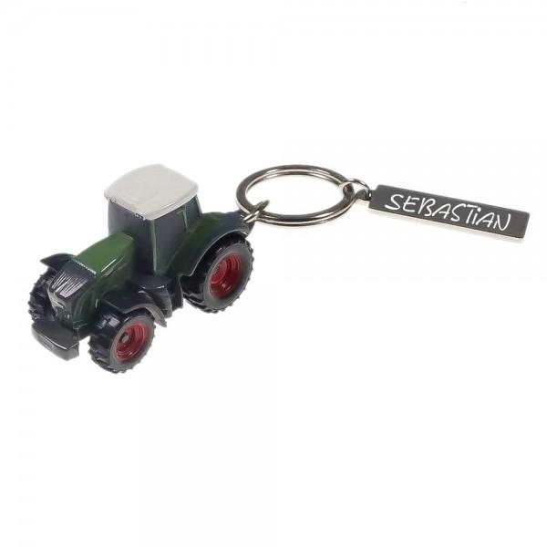 Schlüsselanhänger mit Gravur Traktor Fendt