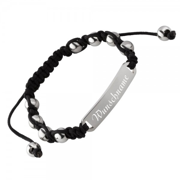 Shamballa-Armband mit Gravur AG-029