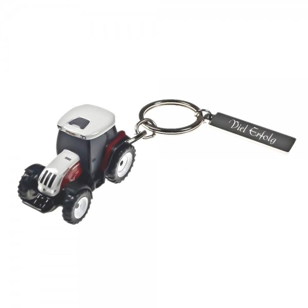 Schlüsselanhänger mit Gravur Traktor STEYR