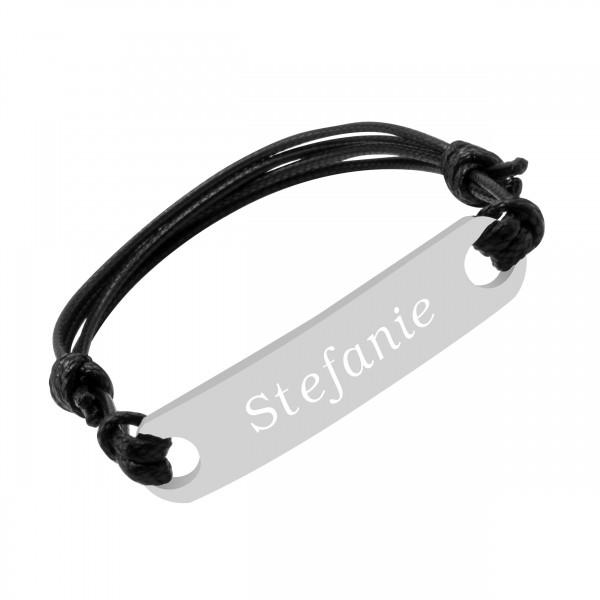 Armband mit Gravur Edelstahl AG-073