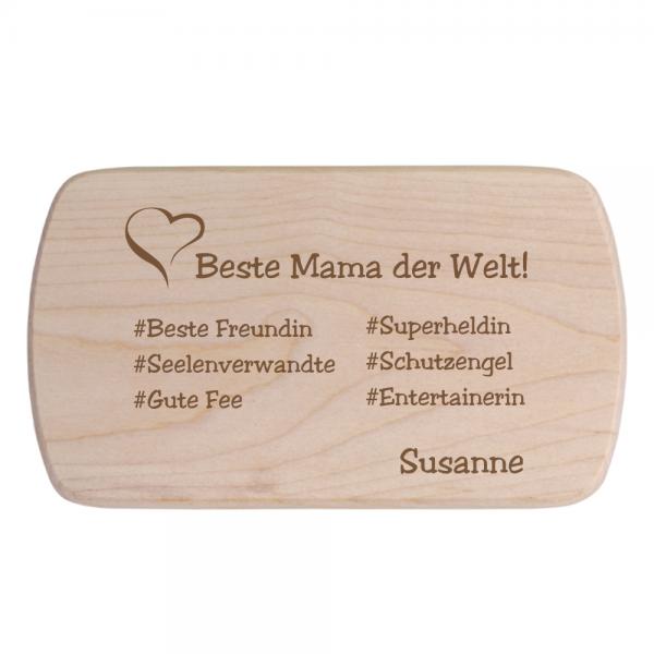Brotbrett für Mama # Wunschnamen