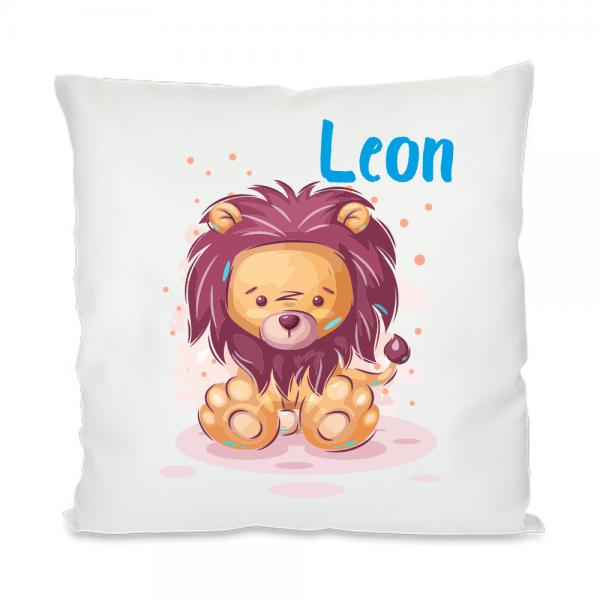 Namenskissen Löwe