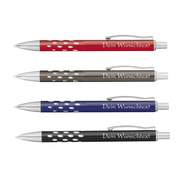 Kugelschreiber Lucky Looks mit Gravur