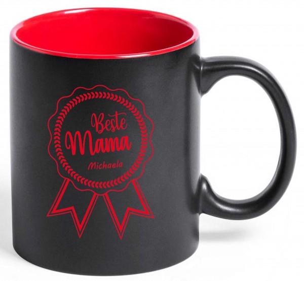 """Tasse """"Beste Mama"""" mit deiner Wunschgravur"""