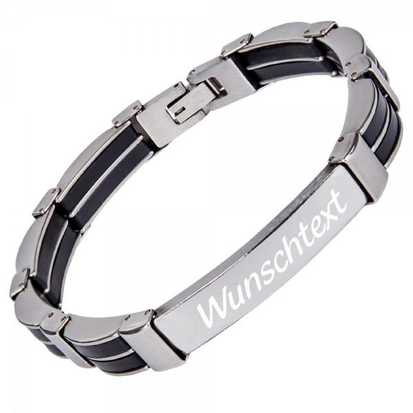 Armband mit Gravur Edelstahl AG-071