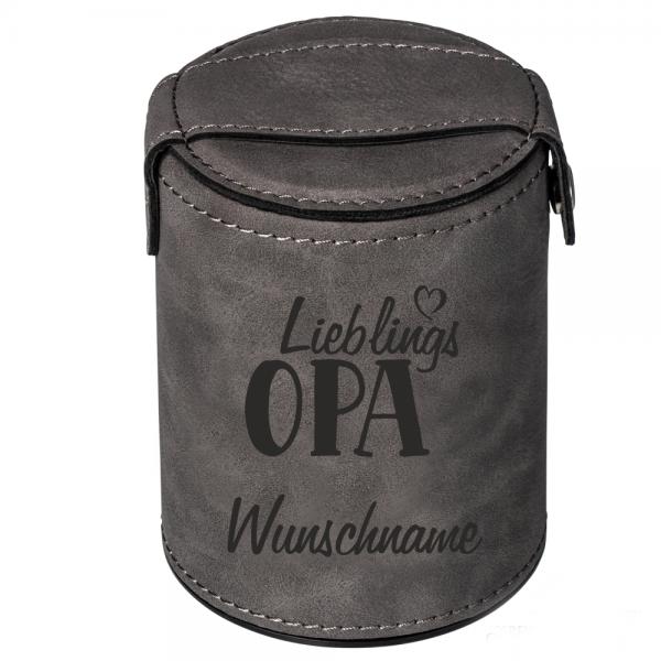 Würfelbecher mit Namen Lieblings-Opa