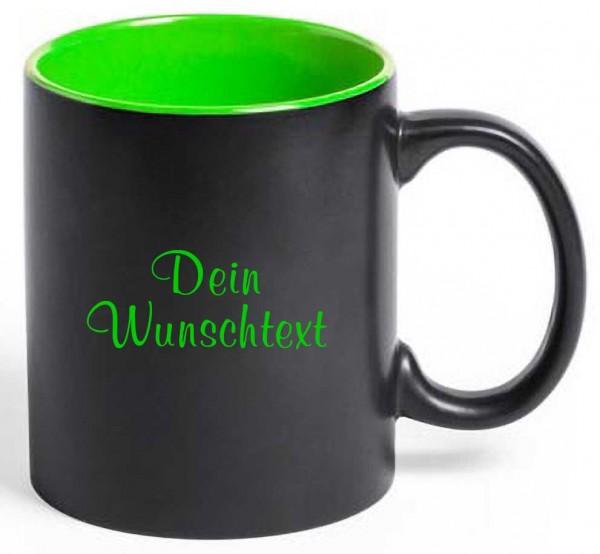 Tasse Dark mit deiner Wunschgravur
